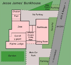 plan of Bunkhouse